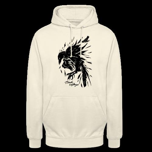 raven_tribal - Unisex Hoodie