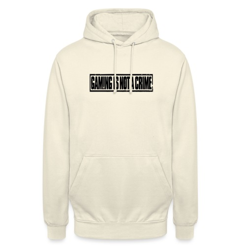 Gaming is not a crime - Sweat-shirt à capuche unisexe