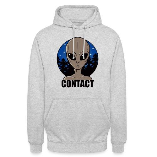Contact Extraterrestre - Sweat-shirt à capuche unisexe