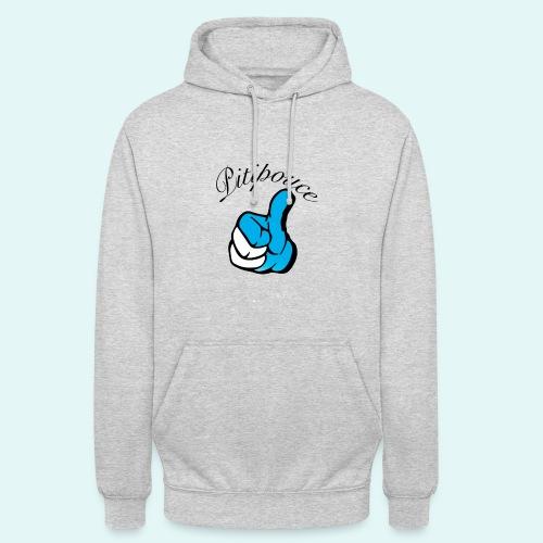 Pouce bleu Pitipouce PNG - Sweat-shirt à capuche unisexe