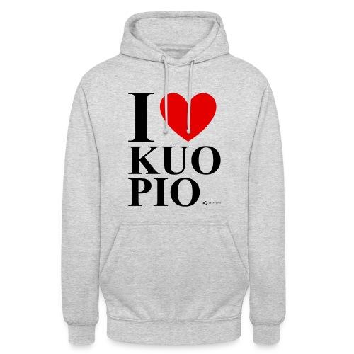 "I LOVE KUOPIO ORIGINAL (musta) - Huppari ""unisex"""