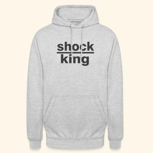 shock king funny - Felpa con cappuccio unisex