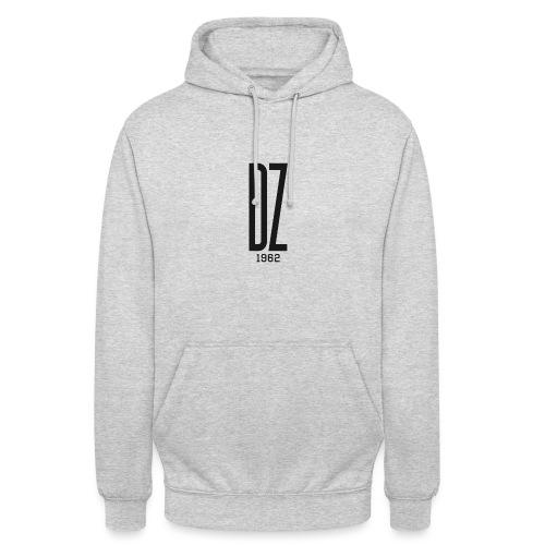 Logo transparent noir DZ 1962 - Sweat-shirt à capuche unisexe