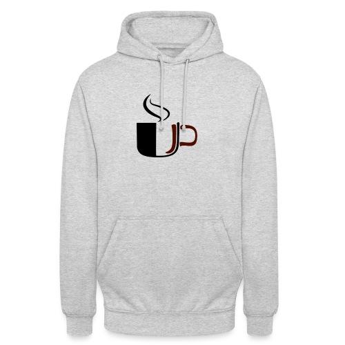 """JU Kahvikuppi logo - Huppari """"unisex"""""""