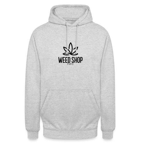 Paris weed shop - Sweat-shirt à capuche unisexe