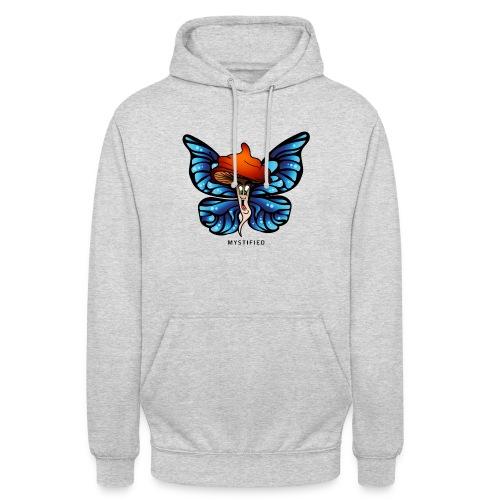 Mystified Butterfly - Hoodie unisex
