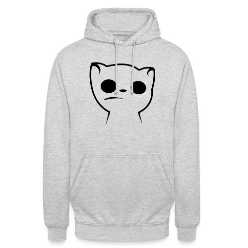 Hypnocat Weiss - Frauen - Unisex Hoodie