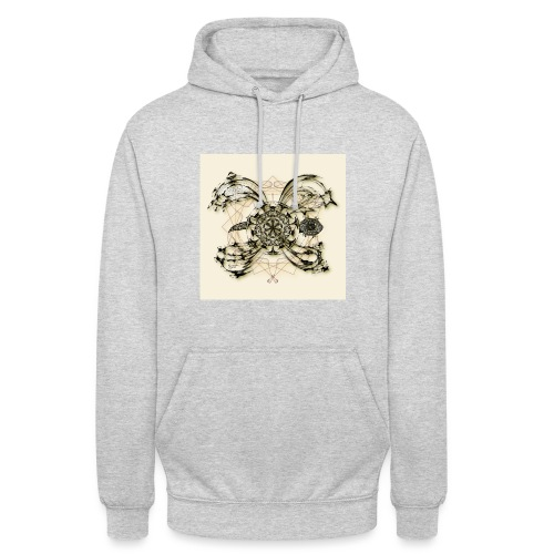 Tortuga 160220 ds. A + - Unisex Hoodie