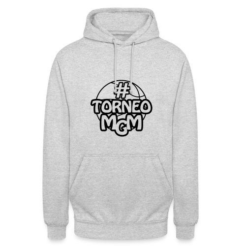 #TorneoMGM logo simple - Felpa con cappuccio unisex