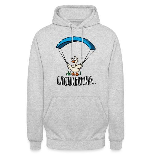 Groundhendl Groundhandling Hendl Paragliding Huhn - Unisex Hoodie
