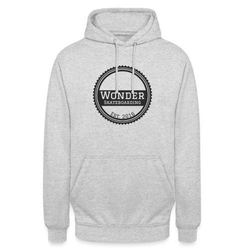 Wonder Longsleeve - round logo - Hættetrøje unisex
