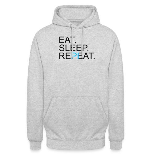 Eat Sleep Repeat PI Mathe Hell - Unisex Hoodie
