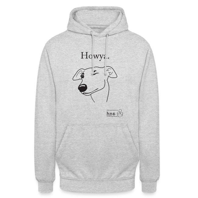 Howya Greyhound in black