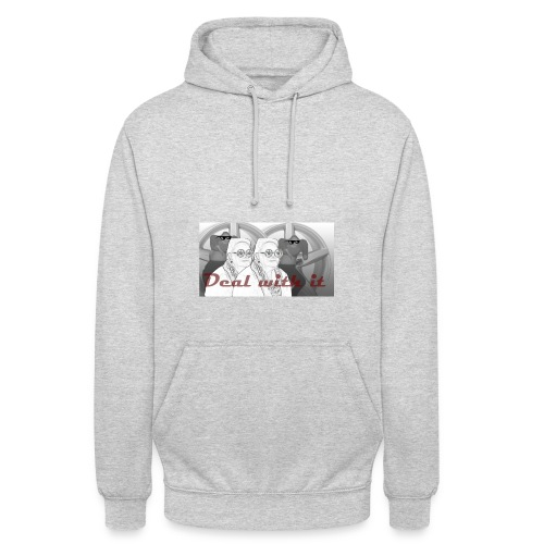 deal with it2 - Hoodie unisex