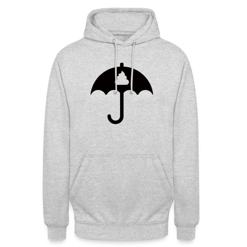 Shit icon Black png - Unisex Hoodie