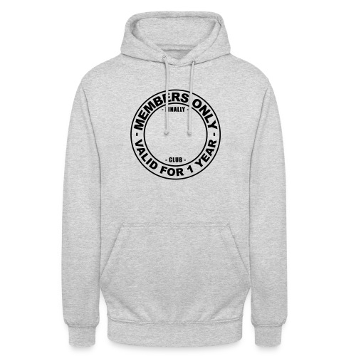 Finally XX club (template) - Unisex Hoodie