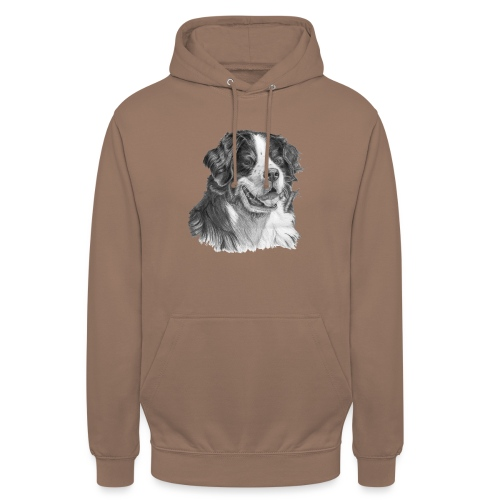 Bernese mountain dog - Hættetrøje unisex