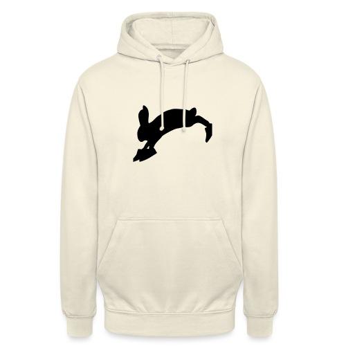 Bunny_Logo_Black - Hættetrøje unisex
