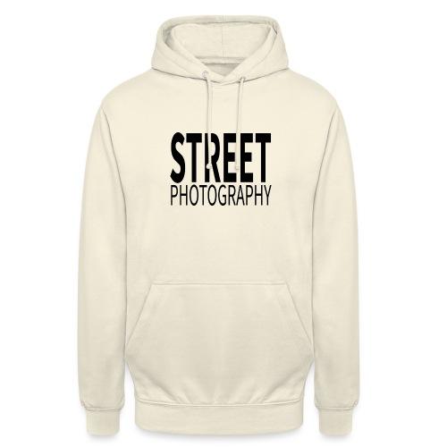 Street photography Black - Felpa con cappuccio unisex
