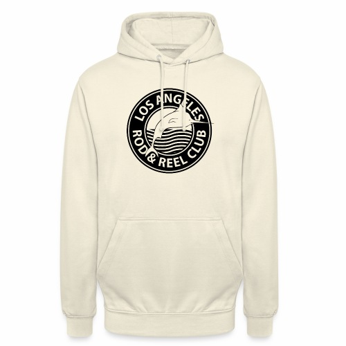 Black Los Angeles Rod And Reel Club - Unisex Hoodie