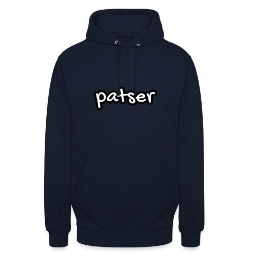 Patser - Basic White - Hoodie unisex