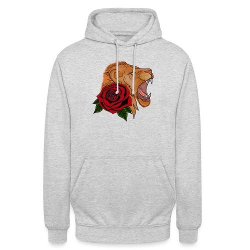Lion - Sweat-shirt à capuche unisexe