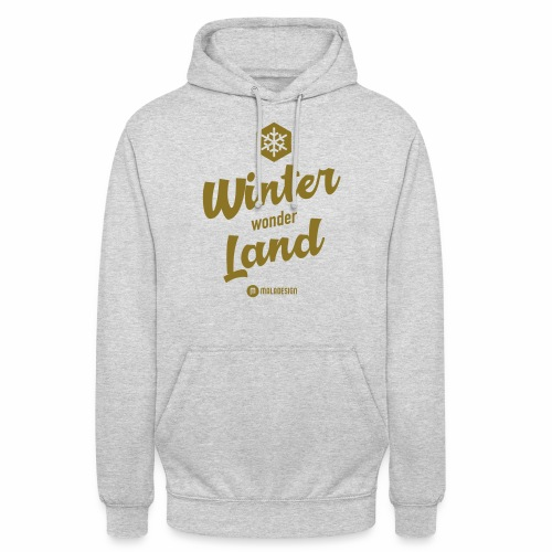 "Winter Wonder Land - Huppari ""unisex"""
