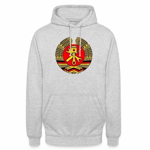 DDR Tuning Coat of Arms 3c (+ Your Text) - Unisex Hoodie