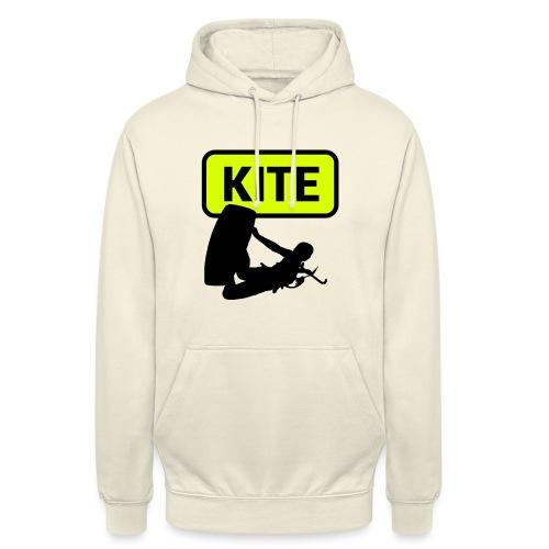 Kite Surf - Felpa con cappuccio unisex