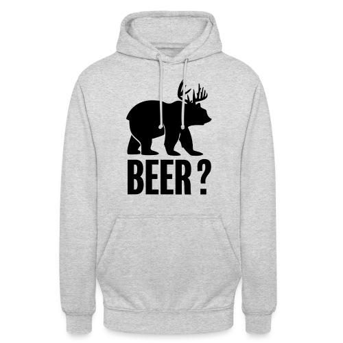 Beer - Sweat-shirt à capuche unisexe