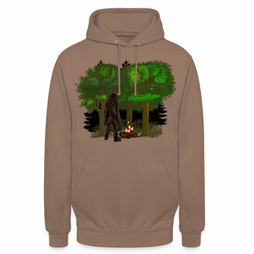 Bigfoot Campfire Forest - Unisex Hoodie