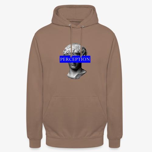 TETE GRECQ BLUE - PERCEPTION CLOTHING - Sweat-shirt à capuche unisexe