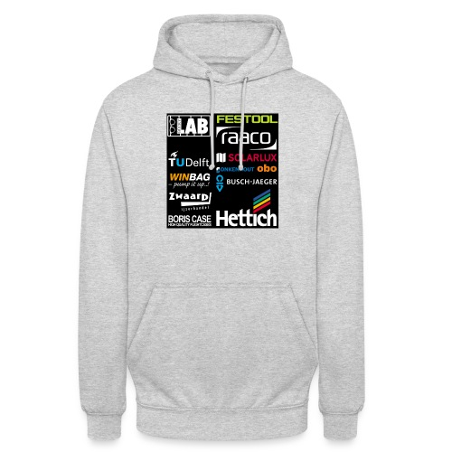 Sponsors back - Unisex Hoodie