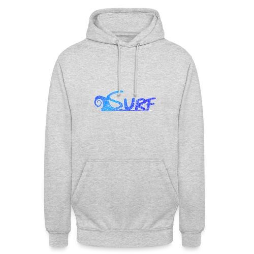 Waves for Surf - Felpa con cappuccio unisex