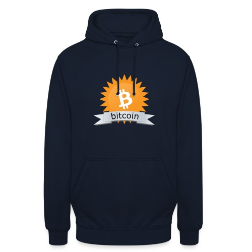 Bitcoin logo - Hoodie unisex