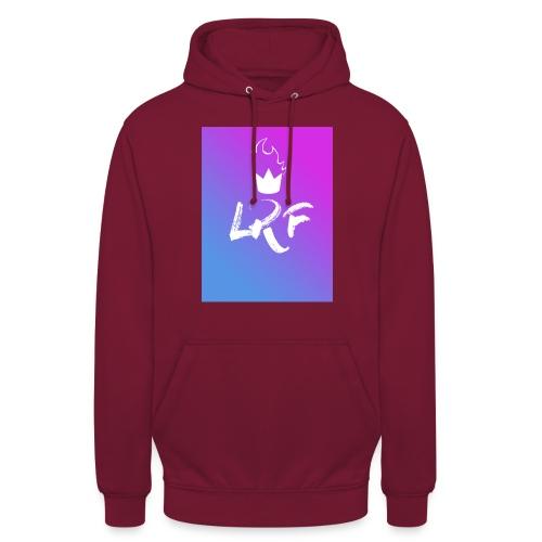 LRF rectangle - Sweat-shirt à capuche unisexe