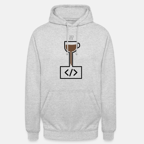Coffee to Code - Programming T-Shirt - Unisex Hoodie