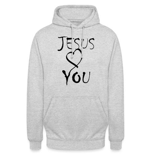 jesus loves you - Unisex Hoodie