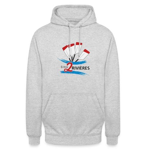 Entre 2 Rivières - Sweat-shirt à capuche unisexe