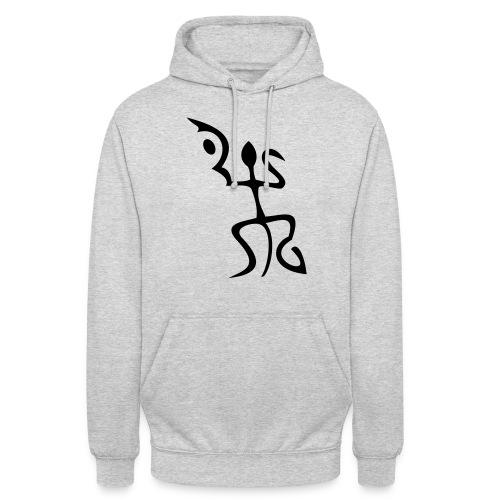 salamandre - Sweat-shirt à capuche unisexe