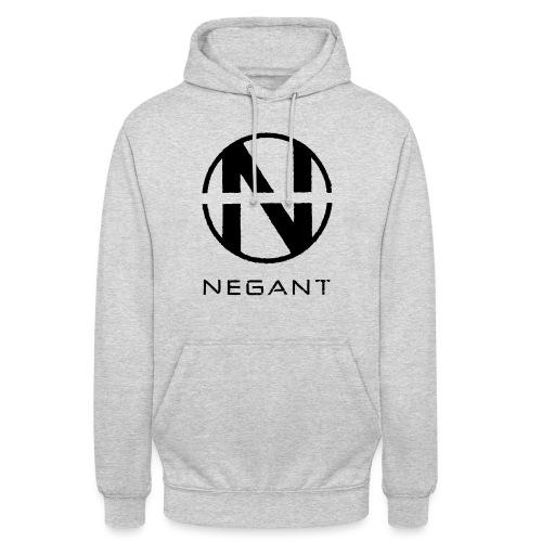 Black Negant logo - Hættetrøje unisex