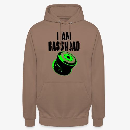 i am basshead - Unisex Hoodie