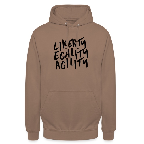 Liberty Egality Agility - Tote Bag - Sweat-shirt à capuche unisexe