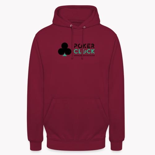 Poker Clock Logo - Unisex Hoodie