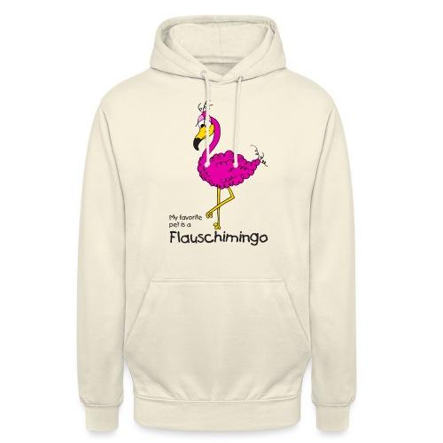 My favorite pet is a Flauschimingo - Unisex Hoodie