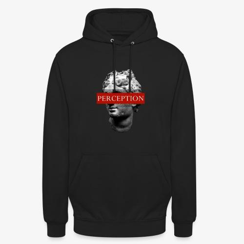 TETE GRECQ RED - PERCEPTION CLOTHING - Sweat-shirt à capuche unisexe