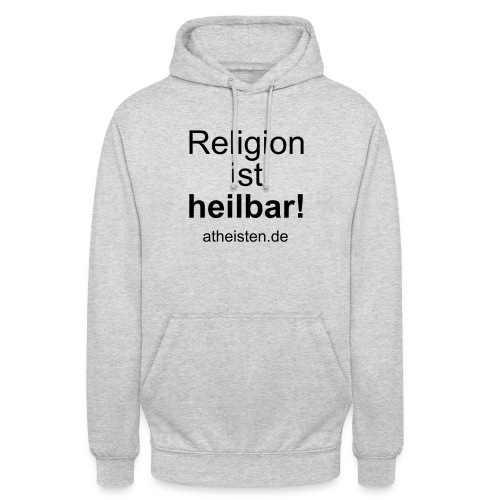 religion_ist_heilbar - Unisex Hoodie