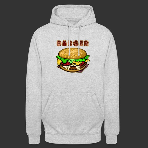 Burger Bear meets Bärenlust - Unisex Hoodie