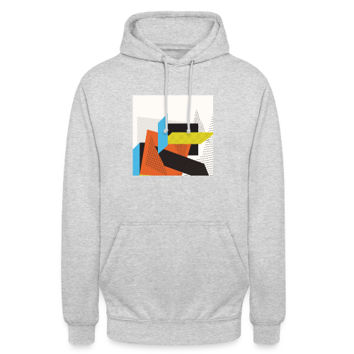 Vintage shapes abstract - Unisex Hoodie