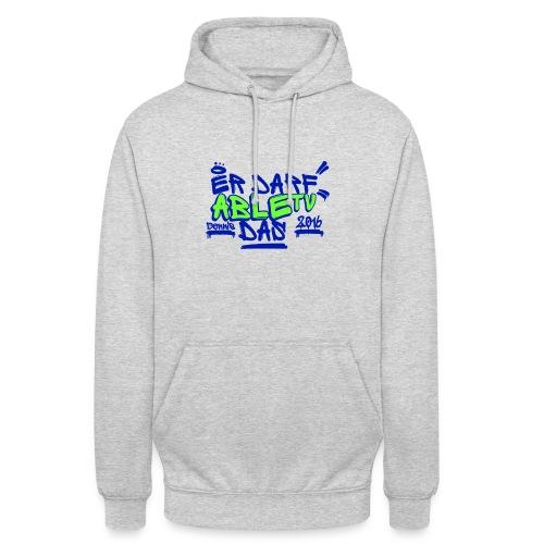 AbleTV Grafitti Logo Marken Shirt (Er Darf Das) - Unisex Hoodie